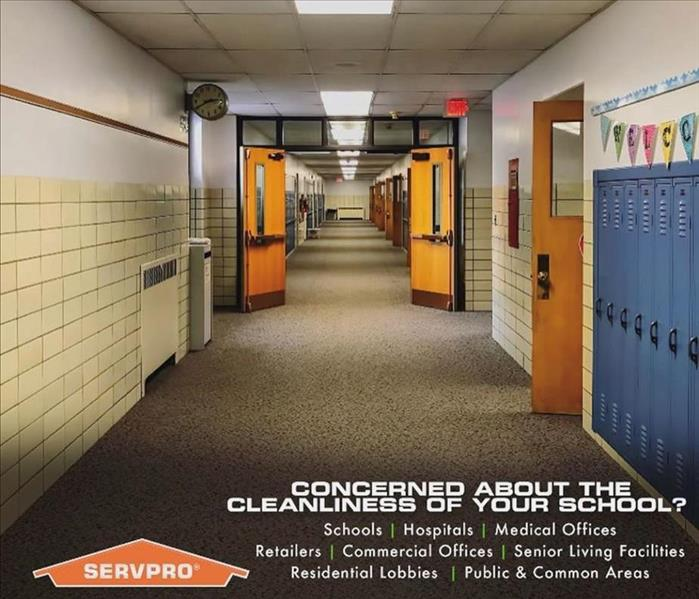We are cleaning Experts - image of school hallway